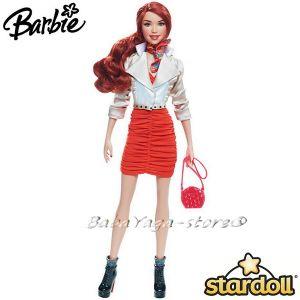 Barbie КУКЛА модна звезда Stardolls Mattel - W2204