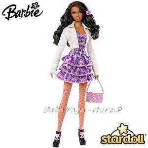Barbie КУКЛА модна звезда Stardolls Mattel - W2199