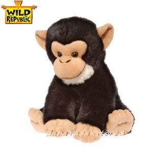 ШИМПАНЗЕ Плюшена играчка от серията Cuddlekins Baby на Wild republic - 85003