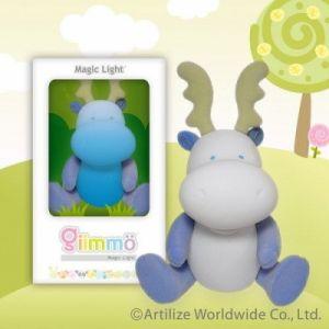 Нощна декоративна лампа за детска стая - ЕЛЕНЧЕ Merril Giimmo
