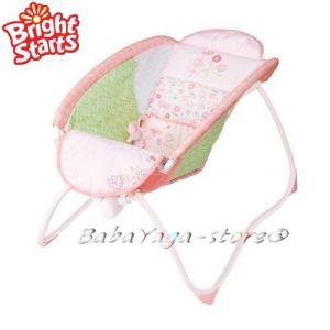 Bright Starts Креватче за бебе Playtime to Bedtime Sleeper от Pritty in Pink колекция, 60163