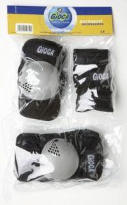 Протектори за колене, лакти и длани (3 части) GIOCA Senior комплект - 5661