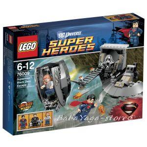 LEGO Конструктор SUPER HEROЕS Супермен: Бягството на Черната Нула 76009