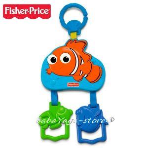 Fisher Price Играчка музикална за количка NEMO mini mobile от серията Disney Baby - BFX98