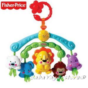 Fisher Price Играчка музикална за количка от серията Precious Planet - R9681
