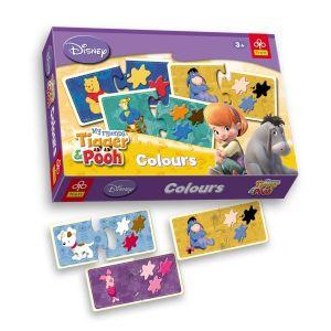TREFL Занимателна игра Мечо Пух Colors - 16854