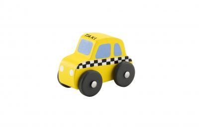 SEVI Дървена мини фигура за игра ТАКСИ - 82116