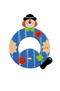SEVI Буква Q дървена  Clown