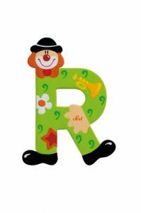 SEVI Буква R дървена  Clown