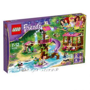 2014 LEGO Конструктор Friends Спасителна база в джунгла - Jungle Rescue Base- 41038