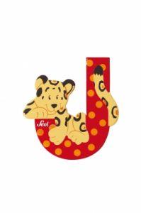 SEVI Буква дървена J - Jaguar
