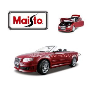 Maisto Special Edition КОЛА AUDI RS4 1:18 - бордо - 31147