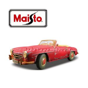 Maisto Old Friends КОЛА MERCEDES Benz 190SL 1:18 - червен - 32104