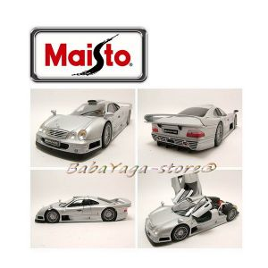 Maisto Premiere Edition КОЛА 1:18 MERCEDES Benz CLK-GTR - сребрист - 36849