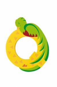 SEVI Буква дървена Q - Quetzal