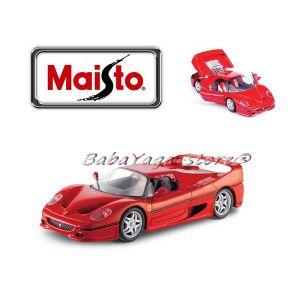 Maisto FERRARI Сглобяем модел F50 1:24 червен - 39923