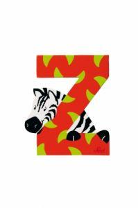 SEVI Буква дървена Z - Zebra