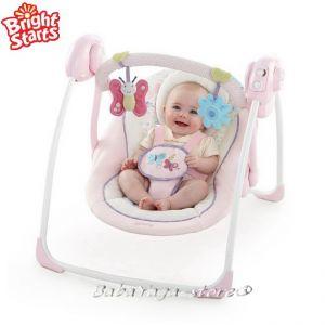 Bright Starts Люлка музикална от серията Comfort & Harmony™ PENELOPE Petals - 60195