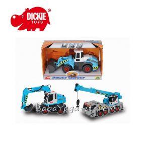 Simba - Dickie Пътно-строителни машини, 3 вида; 14 см - 203722000