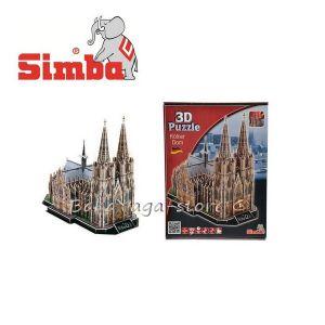 Simba 3D пъзел - Катедралата в Кьолн, 179ч; 35 см - 6134760