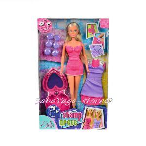 Simba Steffi Love Кукла с рокля с печати, 29 cм - 105730936