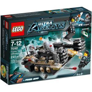 LEGO ULTRA AGENTS Верижният нападател на Тремор Tremor Track Infiltration - 70161