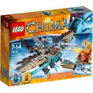 2014 LEGO Конструктор CHIMA Хищния ледохлъзгач на Варди Vardy's Ice Vulture Glider - 70141