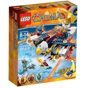 2014 LEGO Конструктор CHIMA Огнения орел летяща машина на Ерис Eris' Fire Eagle Flyer - 70142