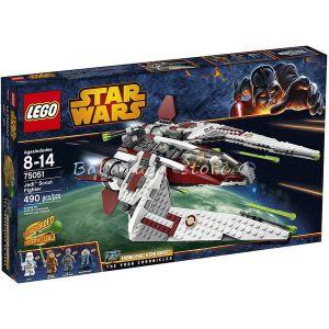 LEGO Конструктор STAR WARS Разузнавателен изтребител на джедайте Jedi Scout Fighter - 75051