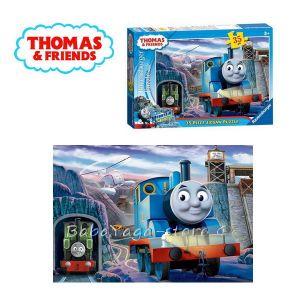 Ravensburger ПЪЗЕЛ за деца с влакчето ТОМАС и приятели от Thomas & Friends (35 части) - 087099