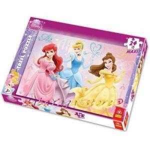 Trefl Пъзел 24 МАКСИ лиценз - Принцеси - 3101896