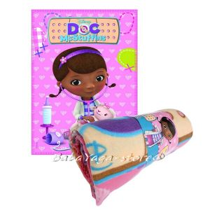 Детско одеяло Doc McStuffins fleece blanket - 7216