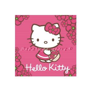 Детска хавлия за ръце Хелоу Кити - Hello Kitty hand towel 30x30 cm