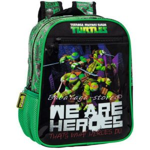 Раница КОСТЕНУРКИТЕ НИНДЖА - Ninja Turtles bagpack 28 cm