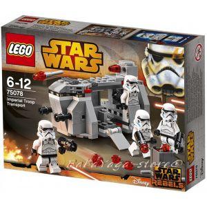 LEGO Конструктор STAR WARS Imperial Troop Transport - 75078