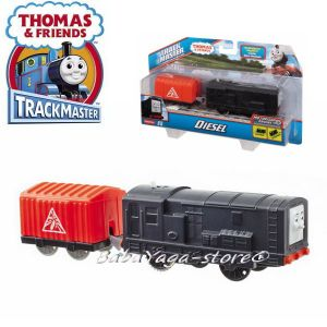 Fisher Price ЛОКОМОТИВ ДИЗЕЛ Thomas & Friends Motorized Diesel Engine от серията TrackMaster™ BMK91