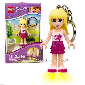 2015 LEGO Friends Ключодържател фигурка Stephanie и LED светлина