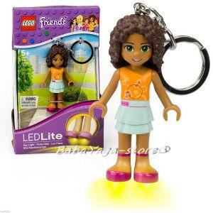 2015 LEGO Friends Ключодържател фигурка Andrea и LED светлина