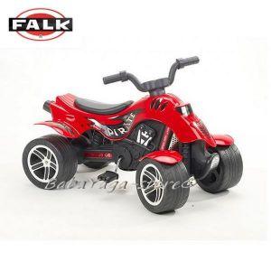 ФАЛК Мотор с четири колела - QUAT PIRATE червен 600