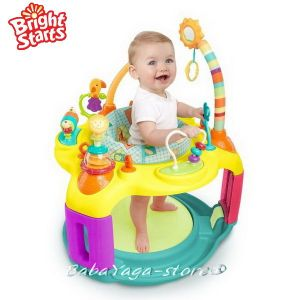 Bright Starts Детски център - бънджи Springin' Safari Bounce-A-Round™ - 60266