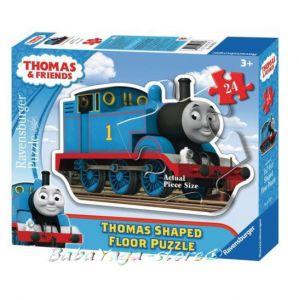 Ravensburger ПЪЗЕЛ за деца с влакчето ТОМАС от Thomas & Friends Shaped Giant Floore puzzle - 053728