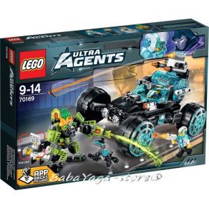 LEGO ULTRA AGENTS Agent Stealth Patrol - 70169