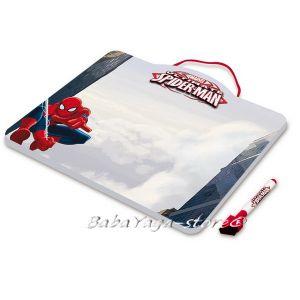 Магнитна дъска за рисуване с маркер Спайдърмен - Tinplate Board with maker pen Spiderman 73048