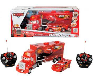 Dickie Toys - Cars MacQueen и Mack Truck с дистанционно 203089558