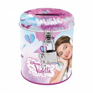 Касичка метална с катинарче Виолета - Violetta metal coin box 261739