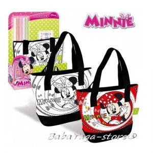 Чанта за оцветяване МИНИ МАУС Minnie Mouse shoulder for painting - 300187