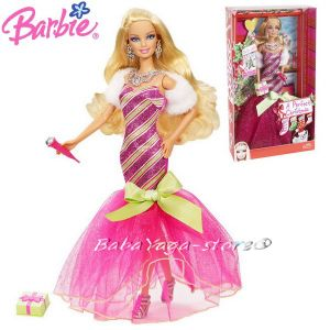 Barbie КУКЛА Fashionistas in evening dress Mattel Y7498