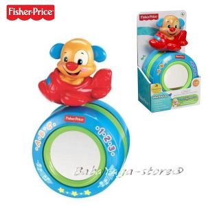 Fisher Price Музикална топка с КУЧЕНЦЕ и САМОЛЕТ Lough & Learn - Y4263