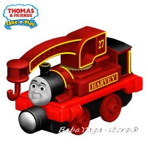 Fisher Price Влакчето ТОМАС Thomas & Friends HARVEY от серията Take-n-Play CCK01