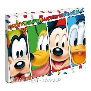 Картина с LED светлина за детска стая Дисни - Disney canvas 440012